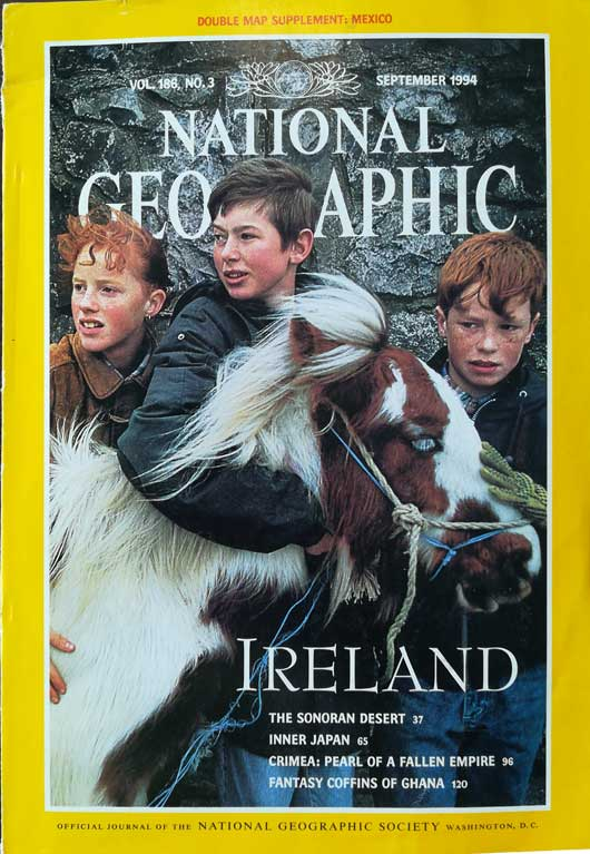 three-irish-boys-with-a-horse-national-geographic-magazine-september-1994